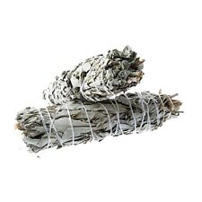 "Native American Indian Californian White Sage Smudge Wand 4""- 4.5"""