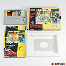 Super Mario All-Stars - BOXED WITH MANUAL GOOD COND Super Nintendo SNES Game PAL