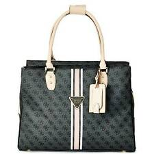NEW GUESS COAL LOGO SPORT DELUXE SHOPPER TOTE LAPTOP HANDBAG BAG PURSE