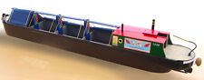 Plans for making a Miniature 1:24th scale model Haulage Canal Boat