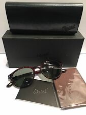 OCCHIALE SOLE PERSOL 3015 TARTARUGA NOS HAND MADE IN ITALY Round sunglasses
