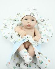 Realistic Reborn Baby Dolls 10'' Soft Vinyl Real Life Lifelike Baby Doll Boy