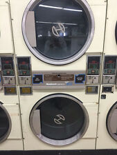 Laundromat Dryers Doubles  IN ALMOND COMPUTERIZED