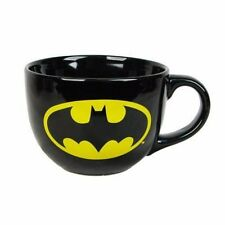 DC Comics BATMAN Logo 24 oz Ceramic Soup Mug