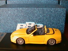 MASERATI GRANSPORT SPYDER STREET 2005 YELLOW BBR181 BBR MODEL 1/43 MADE IN ITALY