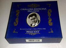 GIGLI: PAGLIACCI & CAVALLERIA RUSTICANA: 2CD BOXSET NIMBUS