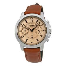 Fossil Gwynn Chronograph Brown Dial Ladies Watch ES4039
