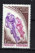 Andorra ( French Post ) : 1980 Campionat del Món de Ciclisme New ( MNH )