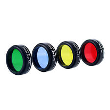 1.25'' 31.7mm Set of 4 Color Telescope Eyepiece Color Filter Set for Telescope
