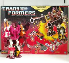 Transformers G1 Re-issue  Autobot Technobots Combiners Computron Collection NEW