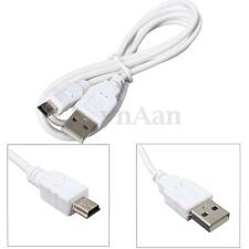 1M USB 2.0 A Vers Mini USB 5 Pin B Data Sync Cable Chargeur Adaptateur Pr Camera