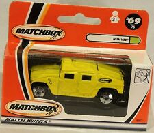 MJ7 Matchbox - 2001 ROW MB69 Humvee - Yellow