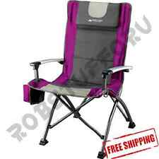 Camping Folding Chair Travel Cup Holder Outdoor Backyard Portable Camp NEW