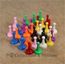 NEW Set of 36 Board Game Pawns Playing Pieces - 9 Colors