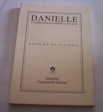 DANIELLE Rosalba De Filippis 2013 Cade Editorial libro poemas
