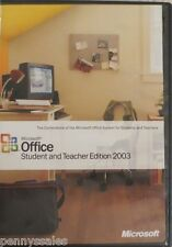 Microsoft Office Student and Teacher Edition 2003 - Full Version for Windows...