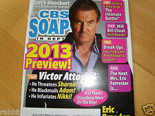CBS SOAPS IN DEPTH 12/2012 Katherine Kelly Lang~Scott Clifton~Melissa Reeves