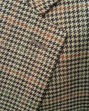 Ralph Lauren 44R Soft LAMBSWOOL Red Houndstooth Tweed Blazer Jacket Sport Coat