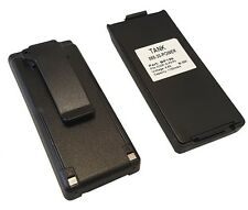 2x 1100mAh BP-195 BP-196 Battery for ICOM IC-A4E IC-F3S IC-F4S IC-F4TR Battery