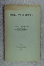 HISCHMANN. INTOXICATIONS ET HYSTÉRIE. PARIS. G. STEINHEIL, ÉDITEUR. 1888.