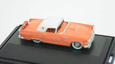 Oxford 1/87 HO 1956 Ford Thunderbird (Sunset Coral) 87TH56001 Diecast NEW!!!!