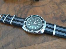 montre  vintage diver ancienne plongee EZOR