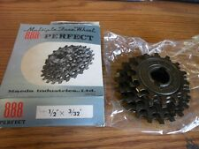 NOS Bicycle Sprocket Suntour 888 Perfect FreeWheel 1/2 by 3/32 5 Speed 14-21