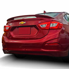 PRE-PAINTED for 2016-2017 CHEVY CRUZE SEDAN 2-POST ABS REAR SPOILER - ANY COLOR