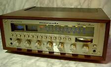 Audiophiler Marantz 2285B Stereophonic Receiver mit neuem Woodcase