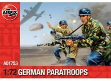 Airfix 1/72nd Scale WWII German Paratroopers Plastic Soldiers Set NEW!
