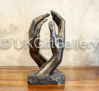 The Cathedral - Artistic Bronze Hands Sculpture Inspired by Auguste Rodin NEW IN
