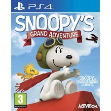 The Peanuts Movie Snoopy's Grand Adventure PS4 Game Brand New
