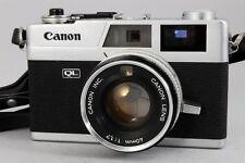 【EXC+++++】 Canon Canonet QL17 Rangefinder Chrome body w/40mm F1.7 from JAPAN 737