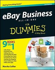 EBay Business All-in-One For Dummies by Marsha Collier Paperback Book (English)