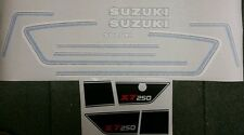 SUZUKI X7 MK3  FULL PAINTWORK DECAL KIT