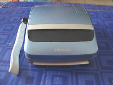 POLAROID ONE Step BLUE 600 INSTANT FILM CAMERA ONE Auto Flash With Strap Awesome