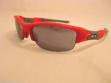 Oakley 03-905 FLAK JACKET, Infrared frame, Black Iridium lens, Size 63 Brand NEW