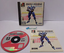 Console Gioco Game SONY Playstation 1 PSX PS1 PSOne PAL Play Ocean - ZERO DIVIDE