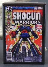 Shogun Warriors #1 Comic Book - Fridge / Locker Magnet. Marvel Raideen