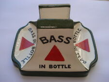 C1910 VINTAGE BASS IN BOTTLE BURTON ON TRENT MINTONS MADE MATCHHOLDER ASHTRAY