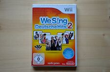 Wii-we sing: allemands Hits 2 - (Neuf)