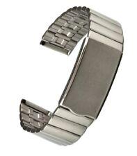 Uhrarmband 17/18 mm Edelstahl mit Faltschließe, Uhrband, Uhrbänder, Uhr neu