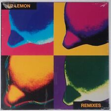 "U2: Lemon Remixes SEALED USA Vinyl 12"" zooropa '93 Super Scarce OOP Bono"