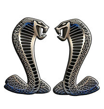 COBRA replica decal 90 mm high gloss laminated left and right facing contour cut