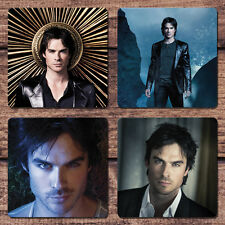Ian Somerhalder Coaster Set NEW The Vampire Diaries Damon Salvatore