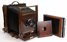 Ansco 8X10 field camera with Schneider 240mm F5.6 MC lens + holders