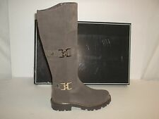 Cesare Paciotti Size 6 M Style 690520 Taupe Suede Knee Boots New Womens Shoes