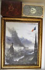 Assassin's Creed Unity Guillotine Collector's Edition Music Box, Painting, Cards