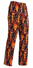 chef pants Drawstring flames 100% cotton pizzaiolo egochef chef pants брюки
