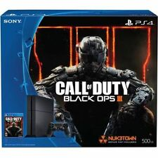 Sony Playstation 4 500GB 3001055  Console Bundle with Call of Duty Black Ops III